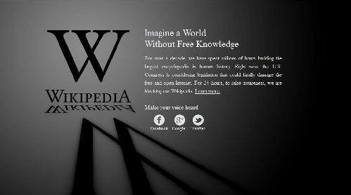 Wikipedia anti-censorship splash page